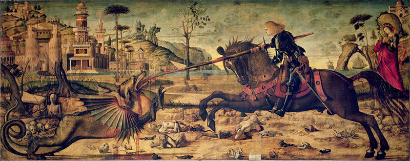 Vittore Carpaccio, 'St. George and the Dragon'